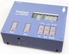 Stop Clock Blue